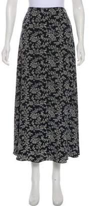 Lauren Ralph Lauren Silk Midi Skirt