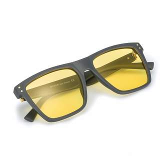 3bd73bd067d Myiaur Unisex HD Night Vision Driving Polarized Square Glasses