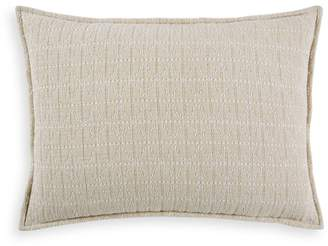 Hudson Park Collection Seed Stitch Trellis Quilted King Sham - 100% Exclusive