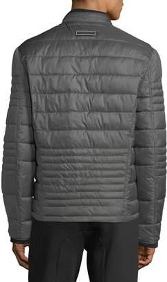 Andrew Marc Men's Grymes Faux Down Packable Jacket