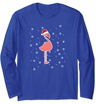 Flamingo Christmas Pajama - Flamingo Long Sleeve Shirt