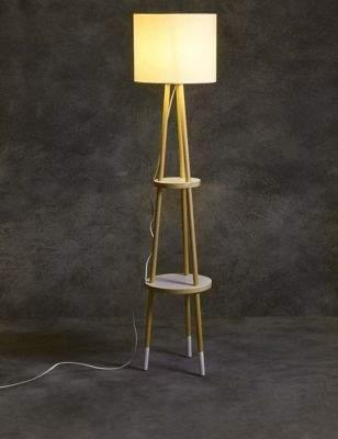 Marks and Spencer Shelves Floor Lamp