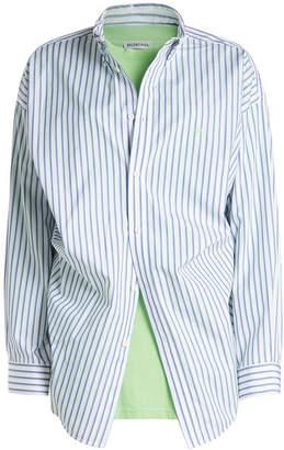 Balenciaga Cotton Shirt with T-Shirt
