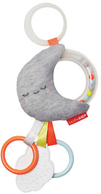 Skip Hop Moon and Cloud Rattle Stroller Toy