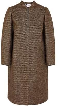 Lanvin Metallic Gabardine Coat