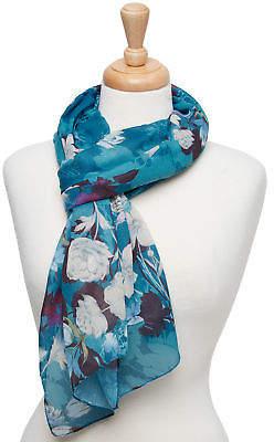 Joe Browns Womens Floral Printed Scarf