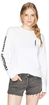 Obey Junior's Permanent Vacation Salvage Long Sleeve Tee