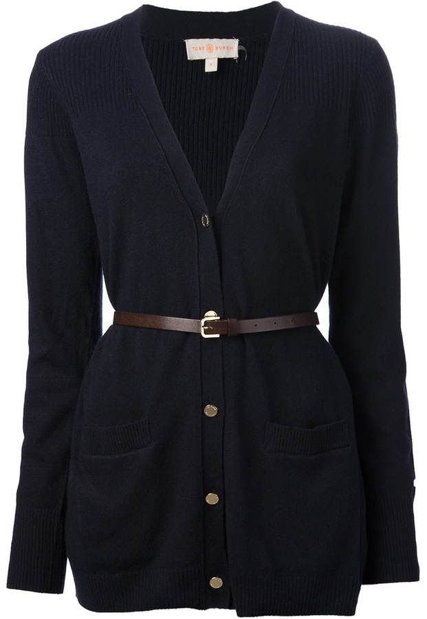 Tory Burch belted cardigan