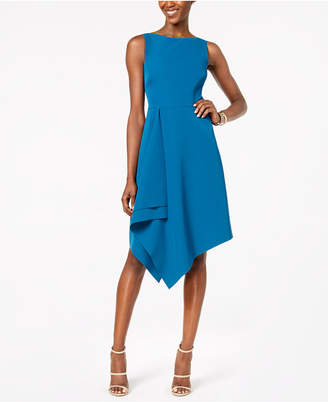 Vince Camuto Asymmetrical A-Line Dress