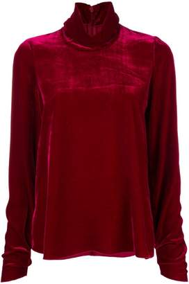Forte Forte long-sleeve flared top