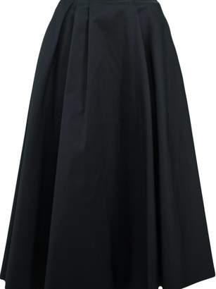 Rochas High-waisted Full Midi Skirt
