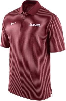 Nike Men's Alabama Crimson Tide Striped Stadium Dri-FIT Performance Polo