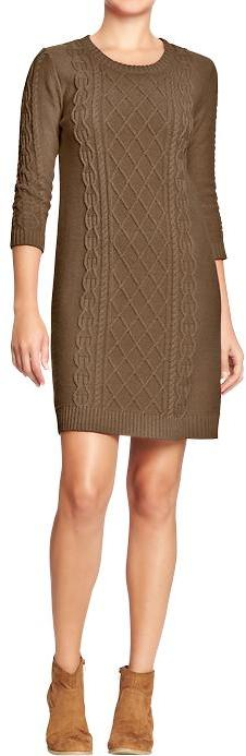 Old Navy Women's Cable-Knit Sweater Dresses