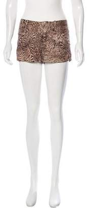 Alice + Olivia Animal Print Shorts