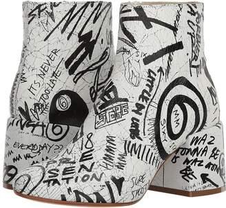 MM6 MAISON MARGIELA Fragile Scribble Boot Women's Boots