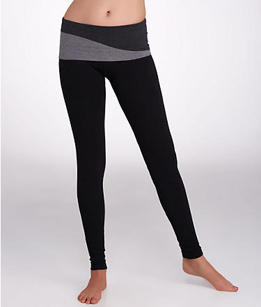 Hard Tail Wave Rolldown Ankle Leggings