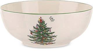 Spode Christmas Tree Round Bowl
