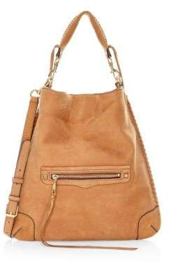 Rebecca Minkoff Slim Regan Whipstitch Leather Hobo