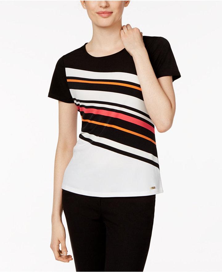 Calvin KleinCalvin Klein Striped T-Shirt