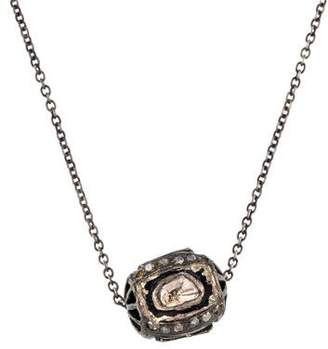 Chicco Zoë Diamond Slice Ball Pendant Necklace