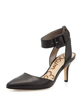 Sam Edelman Okala Ankle-Strap Pump, Black $110 thestylecure.com