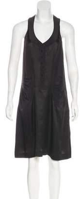 Balenciaga Silk Matelassé Dress