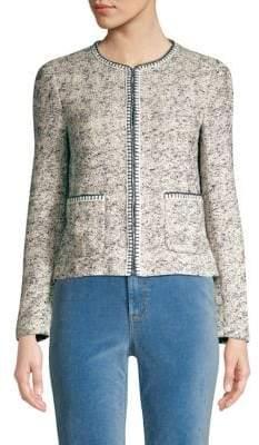 Rebecca Taylor Speckle Tweed Jacket