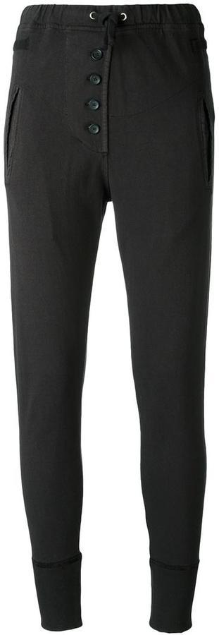 Etoile Isabel Marant buttoned sweatpants