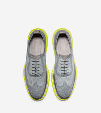 Cole Haan Men's 2.ZERGRAND Water Resistant Oxford with Stitchlite