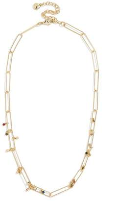 BaubleBar Eden CZ Statement Necklace