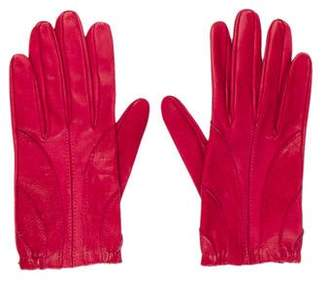 CNC Costume National Stretch Leather Gloves