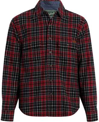 Woolrich Bering Wool Plaid Long-Sleeve Shirt - Men's