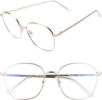 Quay Jezabell 58mm Blue Light Blocking Glasses