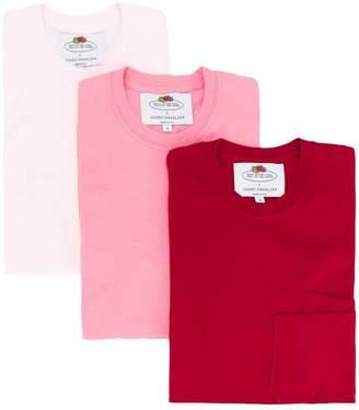Cédric Charlier double pocket T-shirt 3 pack