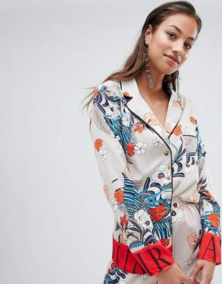 PrettyLittleThing Floral Shirt
