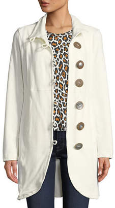 Pure & Co. Kaitlyn Oversized-Button Jacket