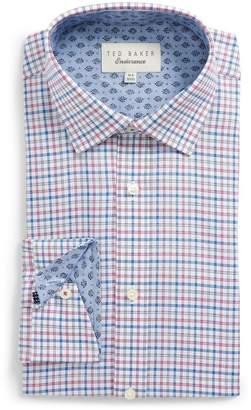Ted Baker Welsh Trim Fit Check Dress Shirt