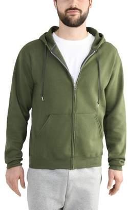 Fruit of the Loom Men's Dual Defense EverSoft Fleece Full Zip Hooded Sweatshirt
