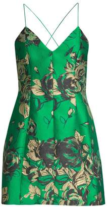 Alice + Olivia Tayla Floral Sleeveless Dress