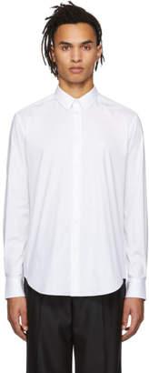 Versace White Poplin Medusa Shirt