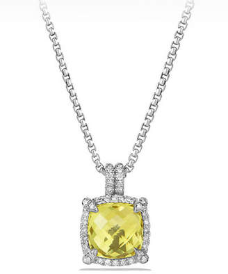 David Yurman 9mm Châtelaine® Bezel Necklace with Diamonds