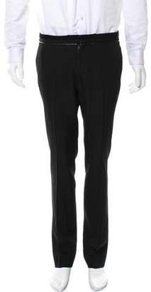 Givenchy Flat Front Wool Pants