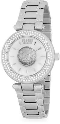 Versace Women's Lion Stainless Steel Bracelet Watch