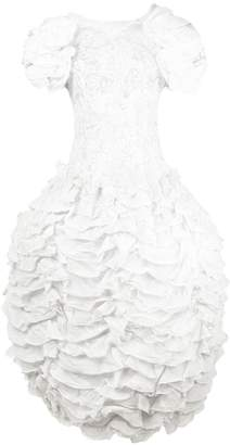 Valentino Pre-Owned ruffled lace gown