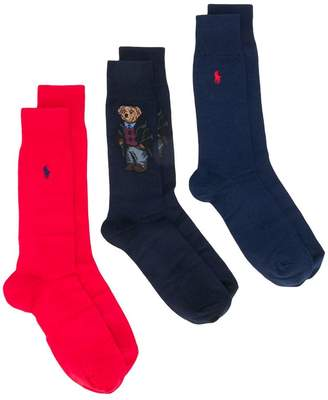 Polo Ralph Lauren Polo Bear sock 3-Pack