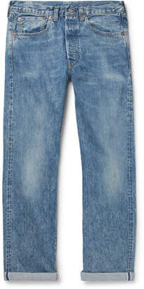 Levi's 1947 501 Distressed Selvedge Denim Jeans