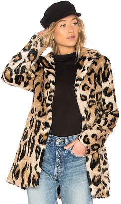 Bardot Faux Fur Coat