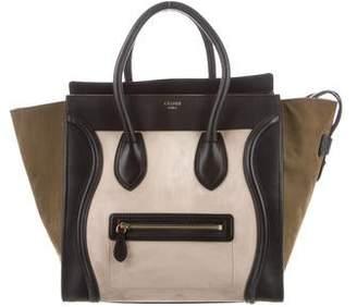 Celine Tricolor MIni Luggage Tote