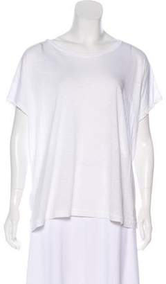 Vince Distressed Oversize T-Shirt