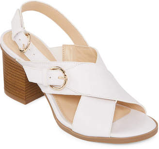 Liz Claiborne Womens Kadin Heeled Sandals